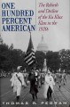 Go to record One hundred percent American : the rebirth and decline of ...
