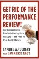 Go to record Get rid of the performance review : how companies can stop...