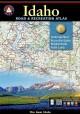 Go to record Idaho road & recreation atlas [cartographic material]