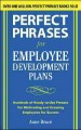 Go to record Perfect phrases for employee development plans : hundreds ...