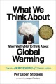 Go to record What we think about when we try not to think about global ...
