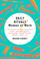 Go to record Daily rituals : women at work