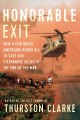 Go to record Honorable exit : how a few brave Americans risked all to s...