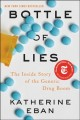 Go to record Bottle of lies : the inside story of the generic drug boom