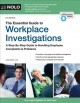 Go to record The essential guide to workplace investigations : a step-b...