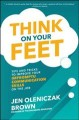 Go to record Think on your feet : tips and tricks to improve your impro...