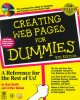 Go to record Creating Web pages for dummies