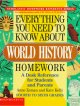 Go to record Everything you need to know about world history homework